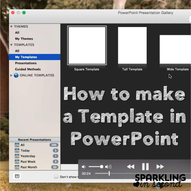 How To Create A Template In Powerpoint